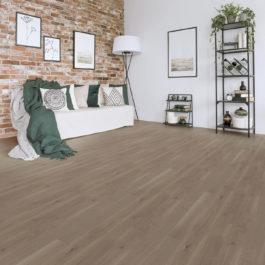 Udiwood ACCESS Monolame, parquet contrecollé Chêne LOIRE brossé verni mat, choix de bois Campagne Prix public indicatif : 54.90 €/m² TTC